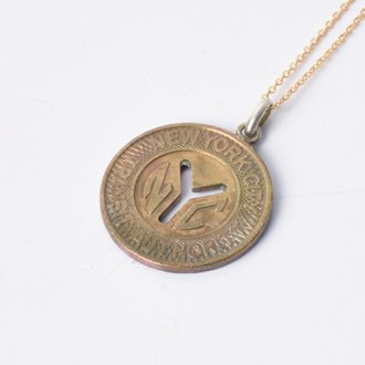 【PAYBACK】New York Underground Token Necklace