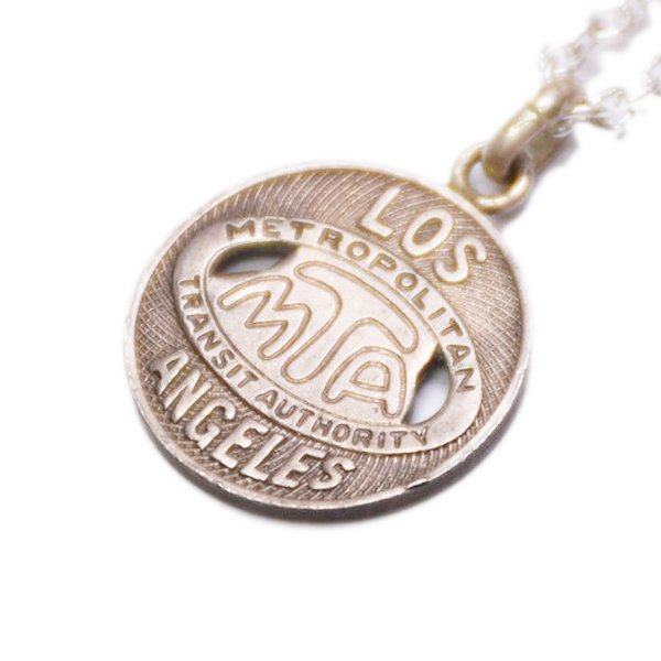 【PAYBACK】Los Angeles Token Necklace(1967)