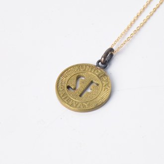 【PAYBACK】San Francisco Token Necklace(1950)
