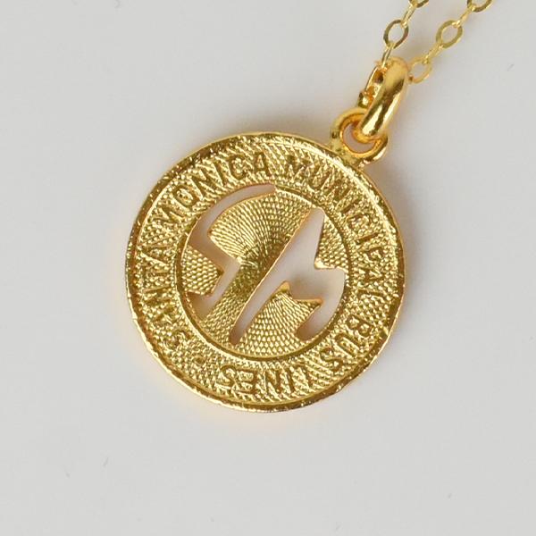 【PAYBACK】Santa Monica Token Necklace(1958)