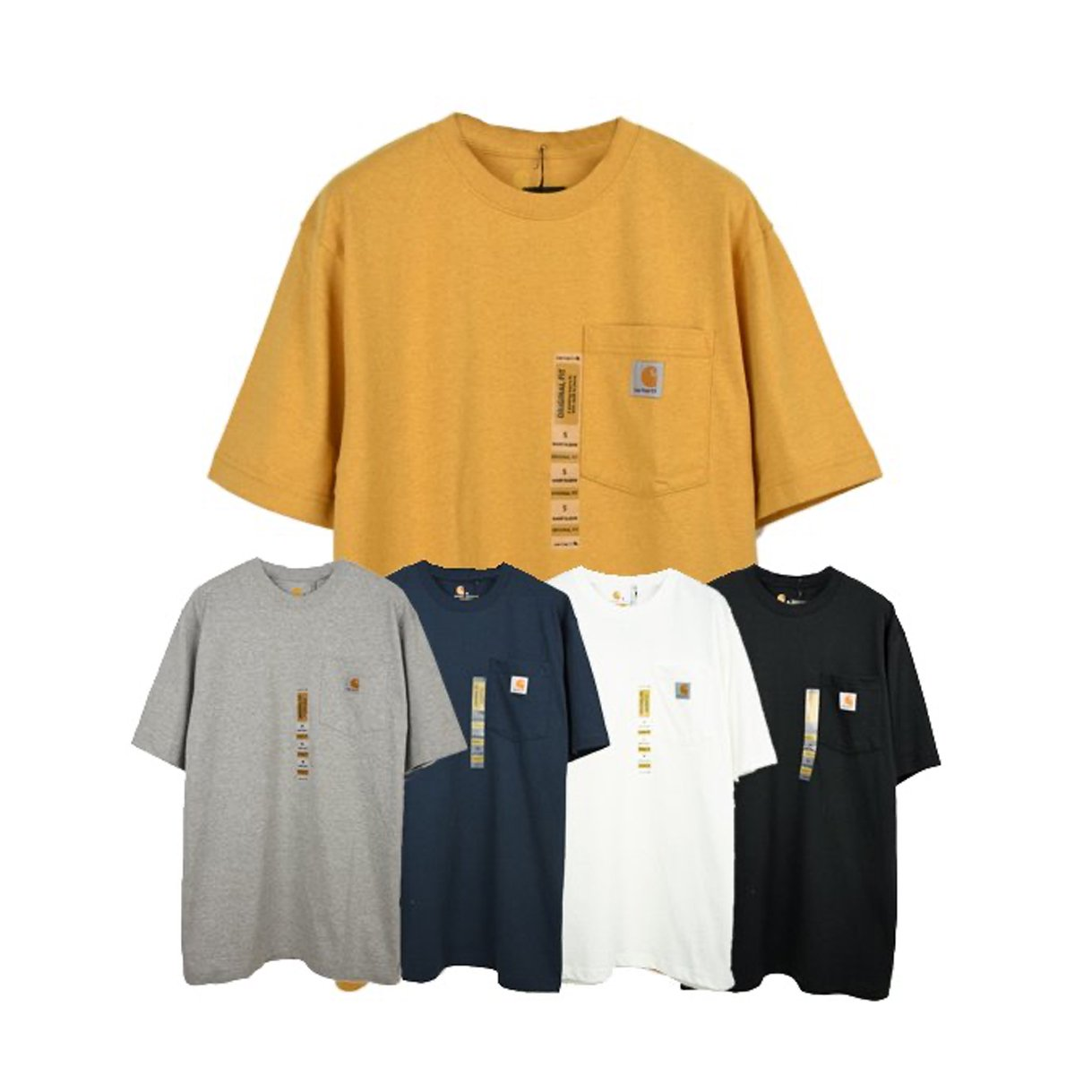 【Carhartt】POCKET TEE