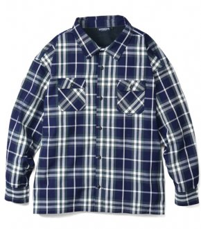 【INTERBREED】Wide Range Plaid Shirt