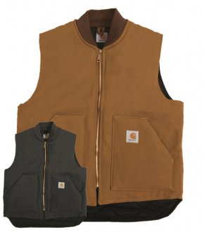 【CARHARTT】DUCK VEST<img class='new_mark_img2' src='//img.shop-pro.jp/img/new/icons8.gif' style='border:none;display:inline;margin:0px;padding:0px;width:auto;' />