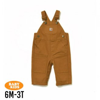 【CARHARTT】Baby & Kids Washed Duck Bib Overall