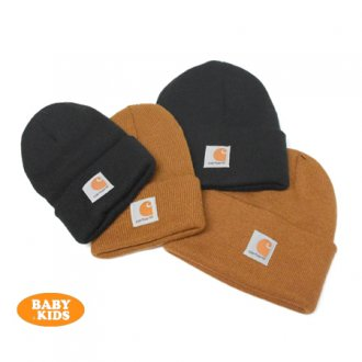 <img class='new_mark_img1' src='https://img.shop-pro.jp/img/new/icons56.gif' style='border:none;display:inline;margin:0px;padding:0px;width:auto;' />【Carhartt】 Kid's Acrylic Watch Hat