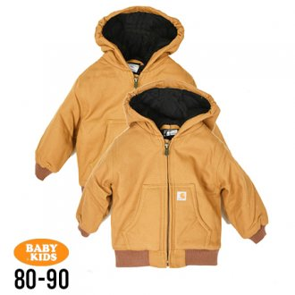 【CARHARTT KIDS】 Duck Active Jacket(80cm~90cm)<img class='new_mark_img2' src='//img.shop-pro.jp/img/new/icons8.gif' style='border:none;display:inline;margin:0px;padding:0px;width:auto;' />