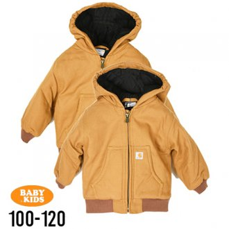 【CARHARTT KIDS】 Duck Active Jacket(100cm~120cm)<img class='new_mark_img2' src='//img.shop-pro.jp/img/new/icons8.gif' style='border:none;display:inline;margin:0px;padding:0px;width:auto;' />