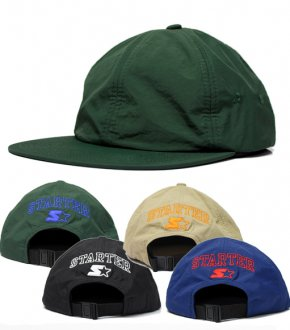 【STARTER BLACK LABEL】 Washer Taffta 6P Cap