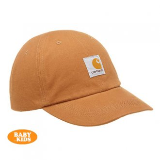 【CARHARTT KIDS】 Kid's Canvas Logo Cap<img class='new_mark_img2' src='https://img.shop-pro.jp/img/new/icons8.gif' style='border:none;display:inline;margin:0px;padding:0px;width:auto;' />