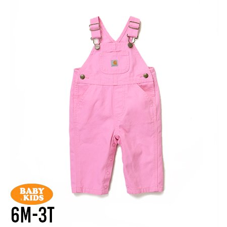 <img class='new_mark_img1' src='https://img.shop-pro.jp/img/new/icons56.gif' style='border:none;display:inline;margin:0px;padding:0px;width:auto;' />【Carhartt】Baby Bib Overall 6M-3T(6ヶ月〜3歳)