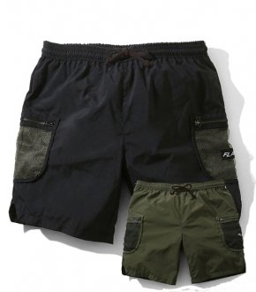 <img class='new_mark_img1' src='https://img.shop-pro.jp/img/new/icons20.gif' style='border:none;display:inline;margin:0px;padding:0px;width:auto;' />【FLATLUX】 Voodoo Nylon Cargo Short 