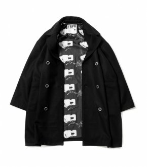 【TBKB】(TIGHTBOOTH × KILLER-BONG)BK SMOKER P COAT