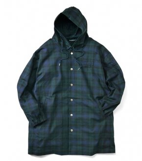 【INTERBREED】Hooded Daily Coat