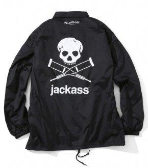 【FLATLUX × jackass】 JA Crew Coach Jacket
