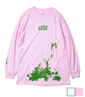【QUARTER SNACKS】Splatter L/S Tee