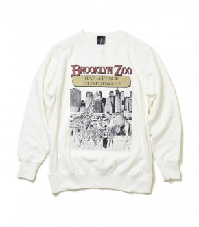 【RAP ATTACK】 Brooklyn Zoo Crew Neck Sweatshirt