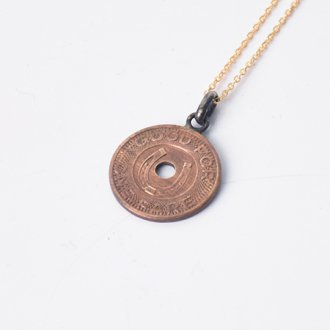 【PAYBACK】Old Las Vegas Token Lucky Horseshoe Necklace