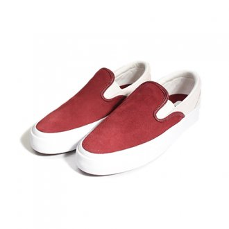 【Converse】One Star CC Slip(White×Burgundy)