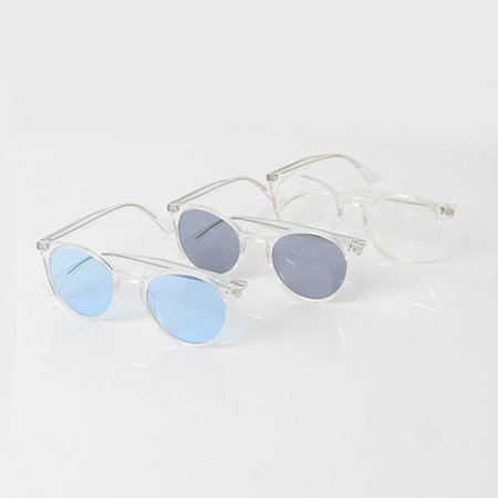 【Goods】Clear Boston Glasses (3Col)                           </a>             <span class=