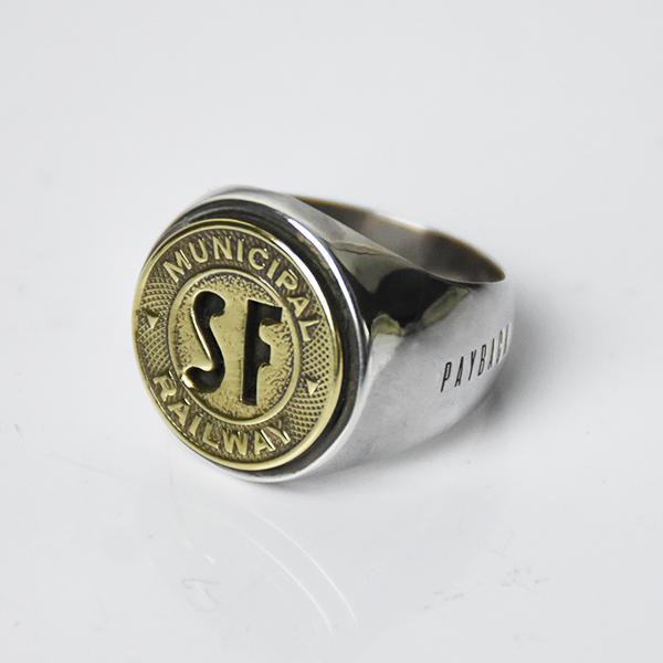 【PAYBACK】San Francisco Token  Silver Ring(1950)