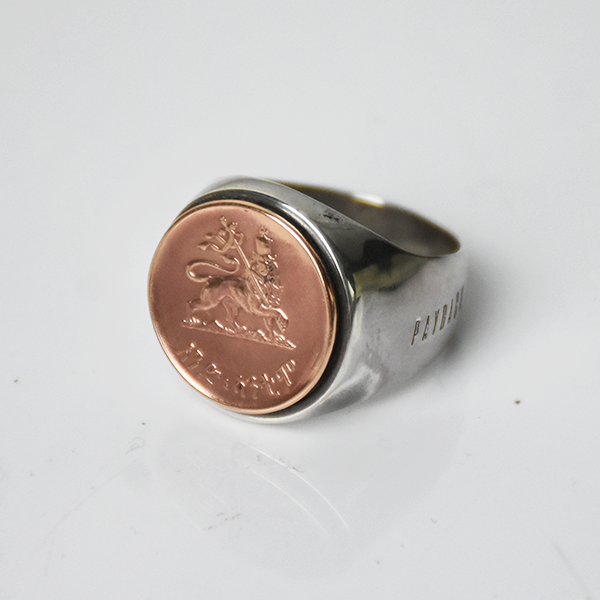 <img class='new_mark_img1' src='https://img.shop-pro.jp/img/new/icons8.gif' style='border:none;display:inline;margin:0px;padding:0px;width:auto;' />【PAYBACK】Ethiopia Lion Of Judah  Silver Ring 