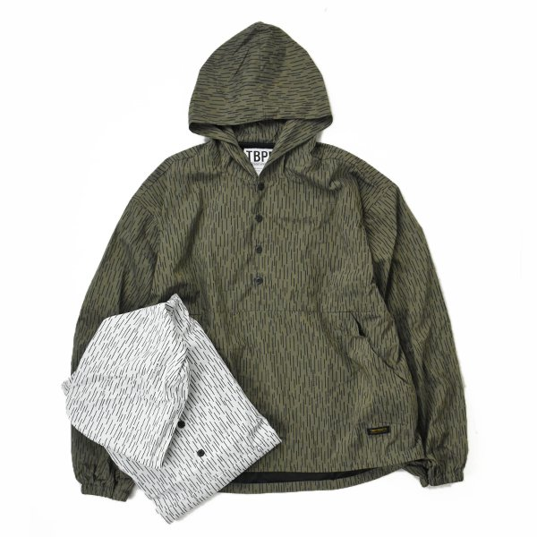 <img class='new_mark_img1' src='https://img.shop-pro.jp/img/new/icons23.gif' style='border:none;display:inline;margin:0px;padding:0px;width:auto;' />【TBPR】Rain Camo Anorak (2Color)