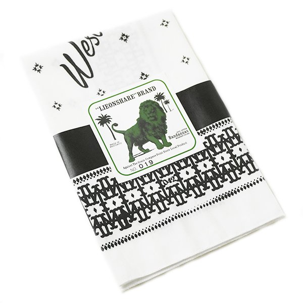 【LIEON SHARE】W.T Bandana White Ver.(#Limited)