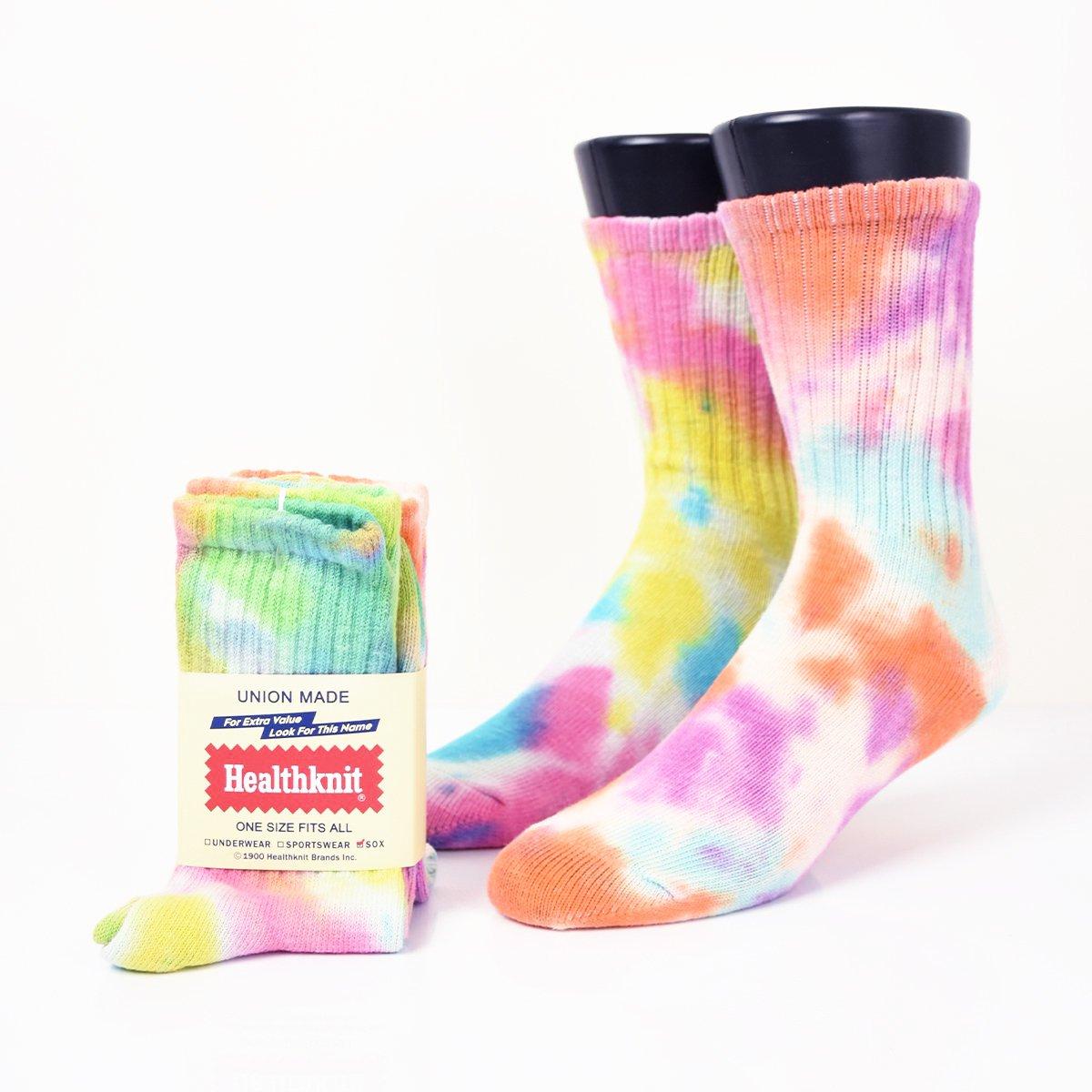【Healthknit】Tie Dye 2P SOX                           </a>             <span class=
