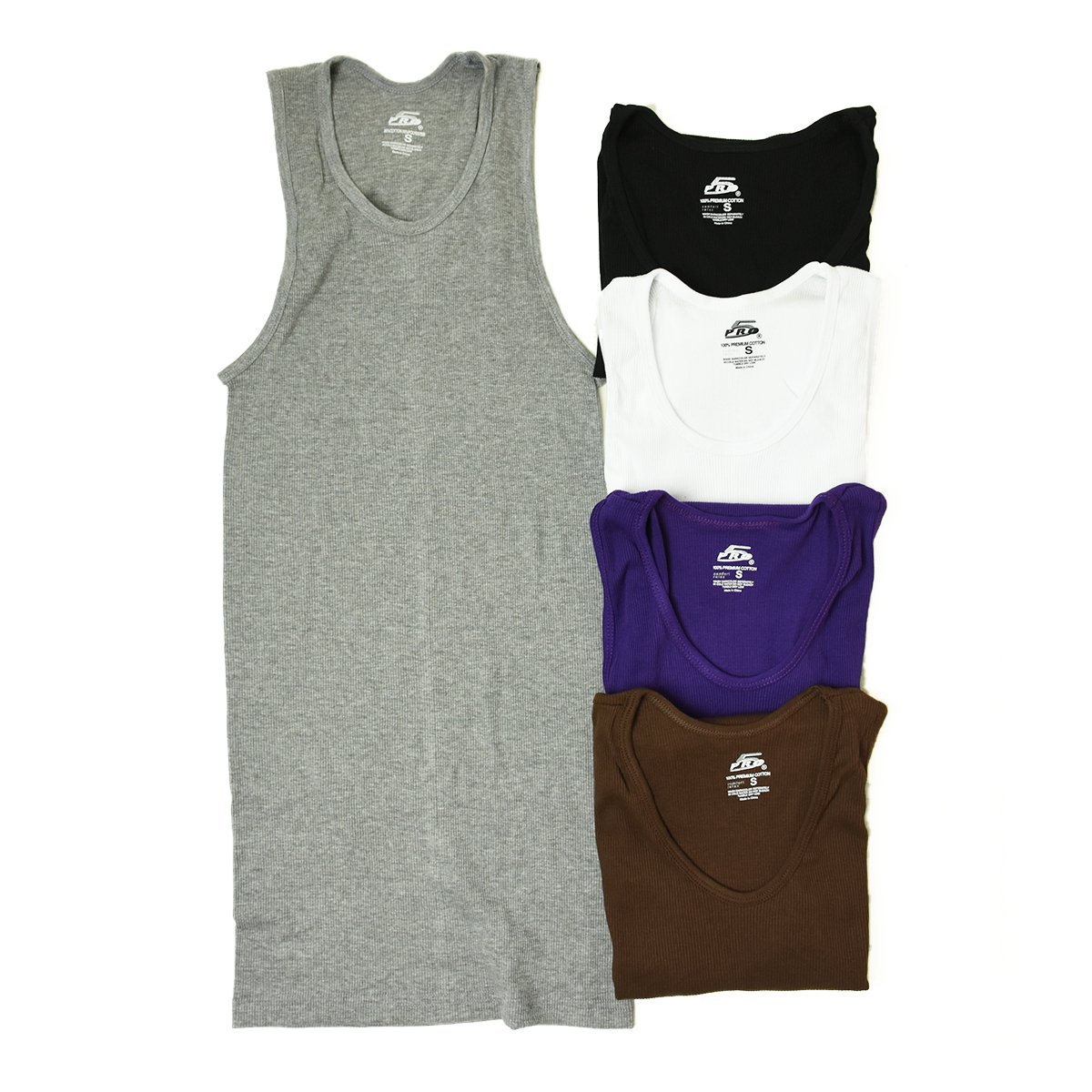 <img class='new_mark_img1' src='https://img.shop-pro.jp/img/new/icons8.gif' style='border:none;display:inline;margin:0px;padding:0px;width:auto;' />【PRO 5】Tank Top (Gray,Black,White,Purple,Brown)                           </a>             <span class=