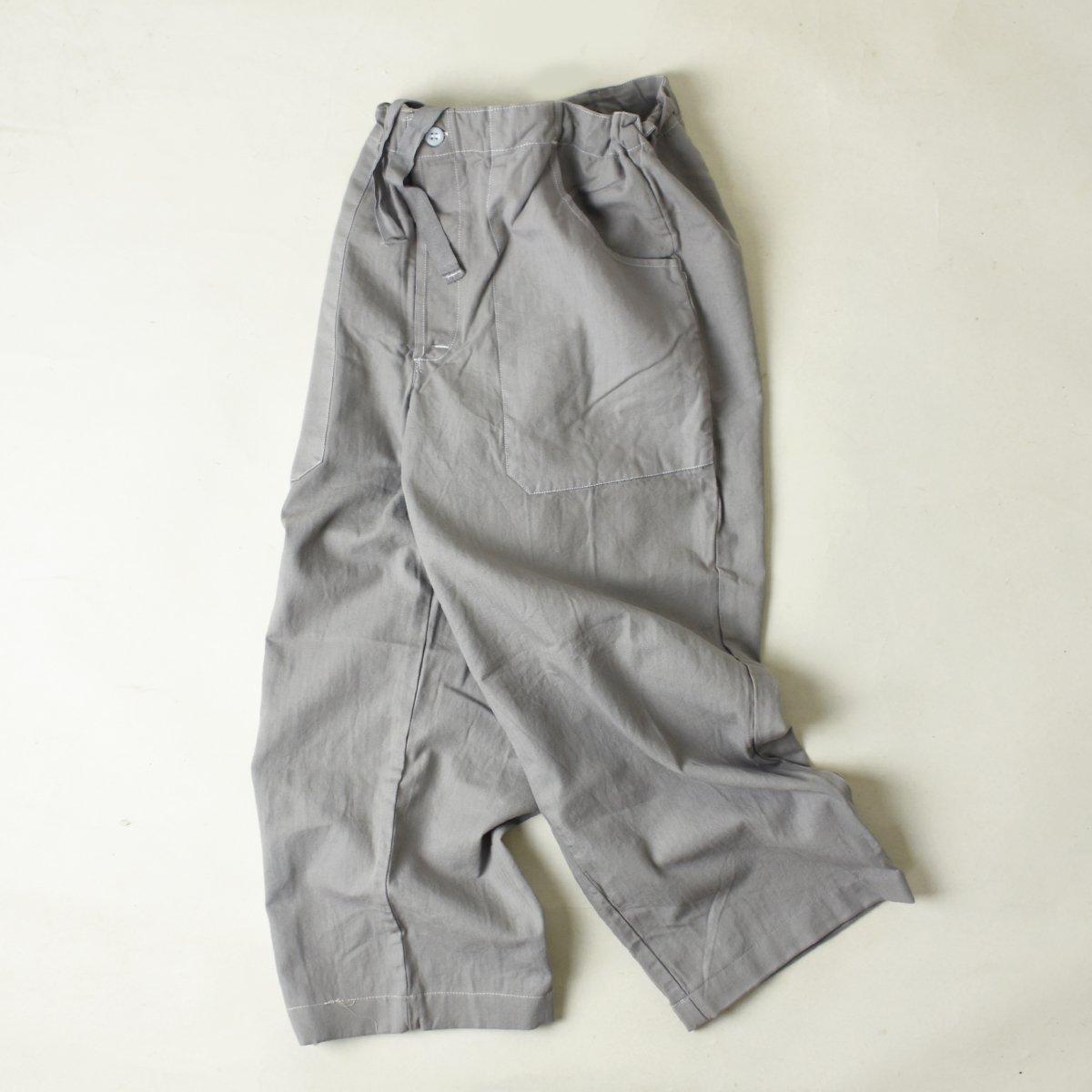 【DEADSTOCK】(旧)Czechoslovakia Chef Pants (Cement)                           </a>             <span class=
