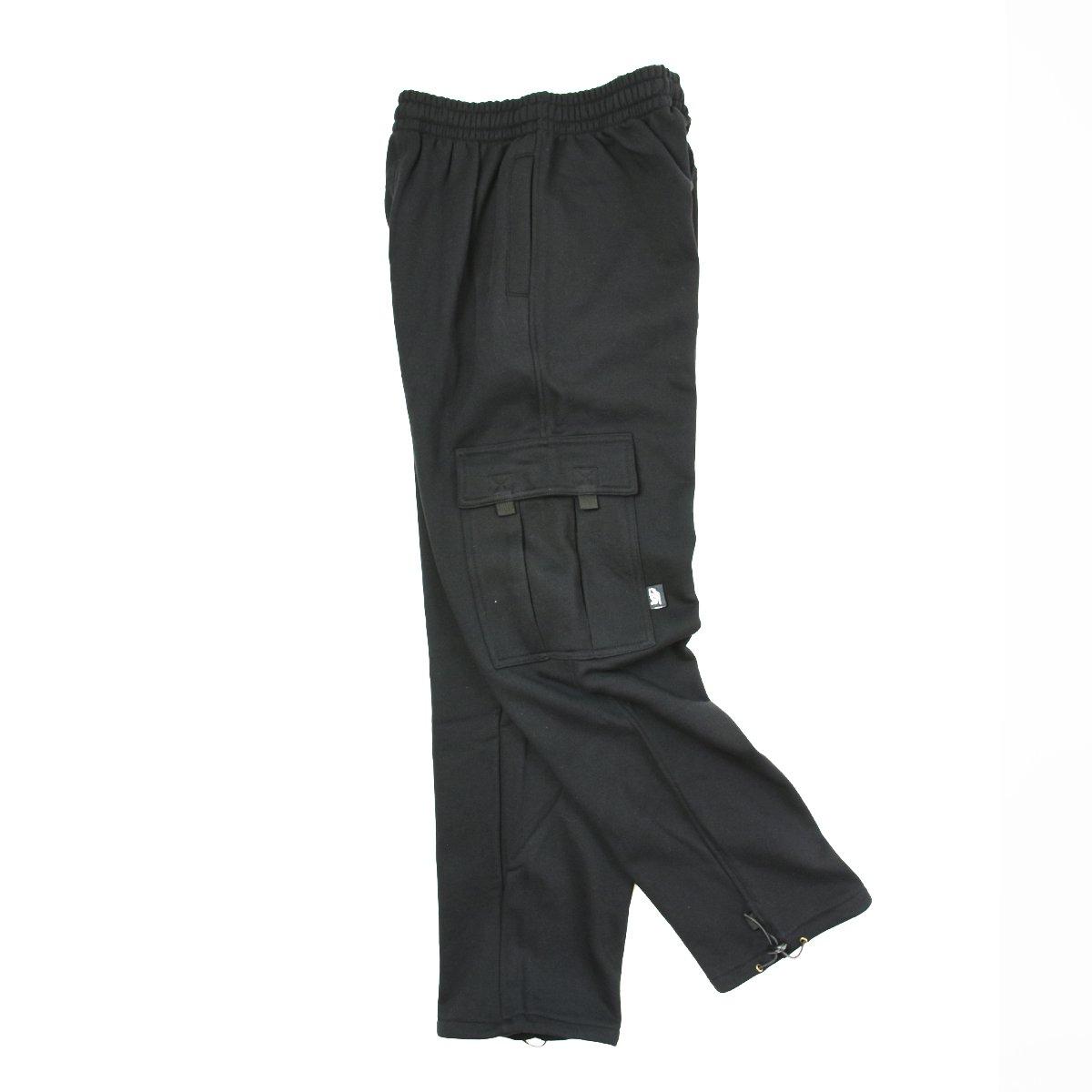 【PRO 5】Heavy Fleece Cargo Pants(Black)                           </a>             <span class=