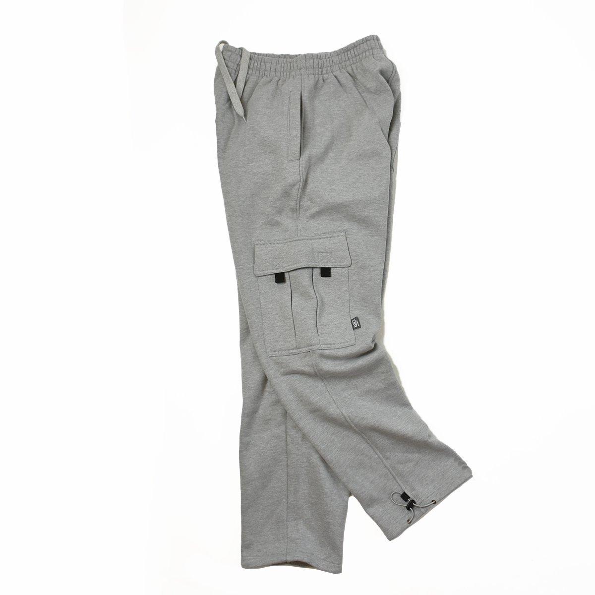 【PRO 5】Heavy Fleece Cargo Pants(Heather Gray)                           </a>             <span class=