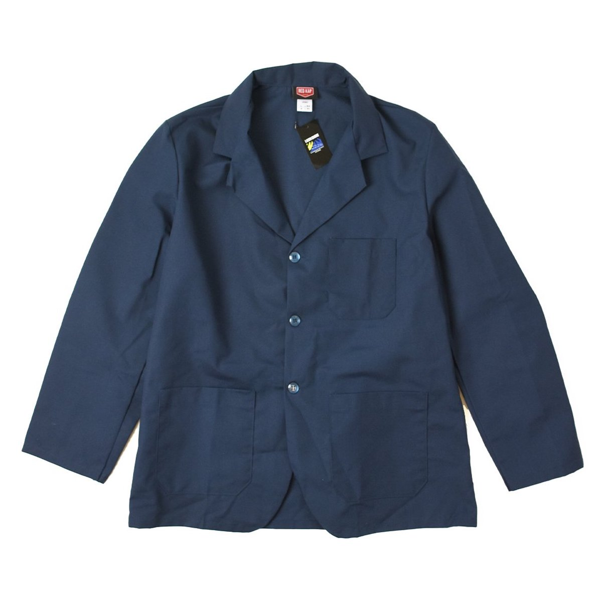 <img class='new_mark_img1' src='https://img.shop-pro.jp/img/new/icons8.gif' style='border:none;display:inline;margin:0px;padding:0px;width:auto;' />【RED KAP】Lapel Counter Coat (Navy)                           </a>             <span class=