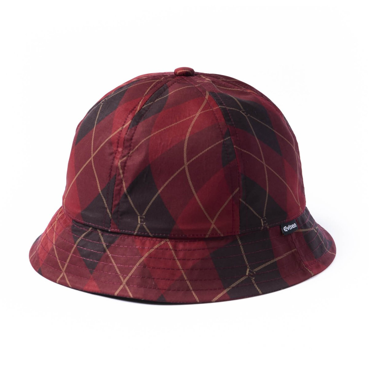 <img class='new_mark_img1' src='https://img.shop-pro.jp/img/new/icons8.gif' style='border:none;display:inline;margin:0px;padding:0px;width:auto;' />【EVISEN】Bent Argyle Hat (Red)                           </a>             <span class=