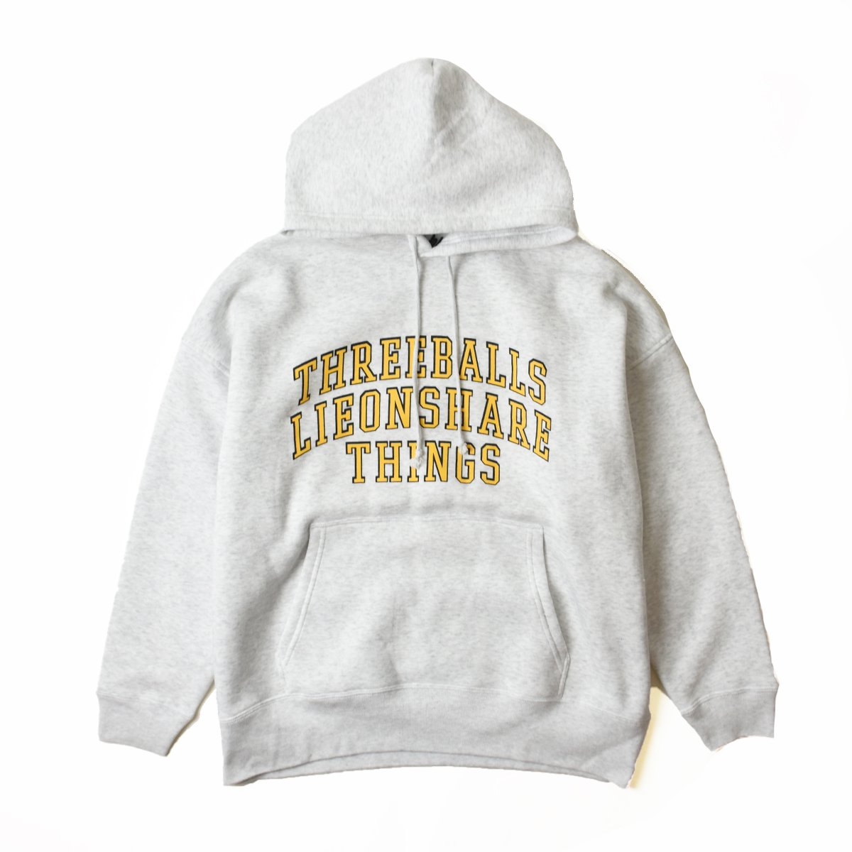 <img class='new_mark_img1' src='https://img.shop-pro.jp/img/new/icons8.gif' style='border:none;display:inline;margin:0px;padding:0px;width:auto;' />【LIEON SHARE】Three Balls Hoodie (Silver Gray)                           </a>             <span class=