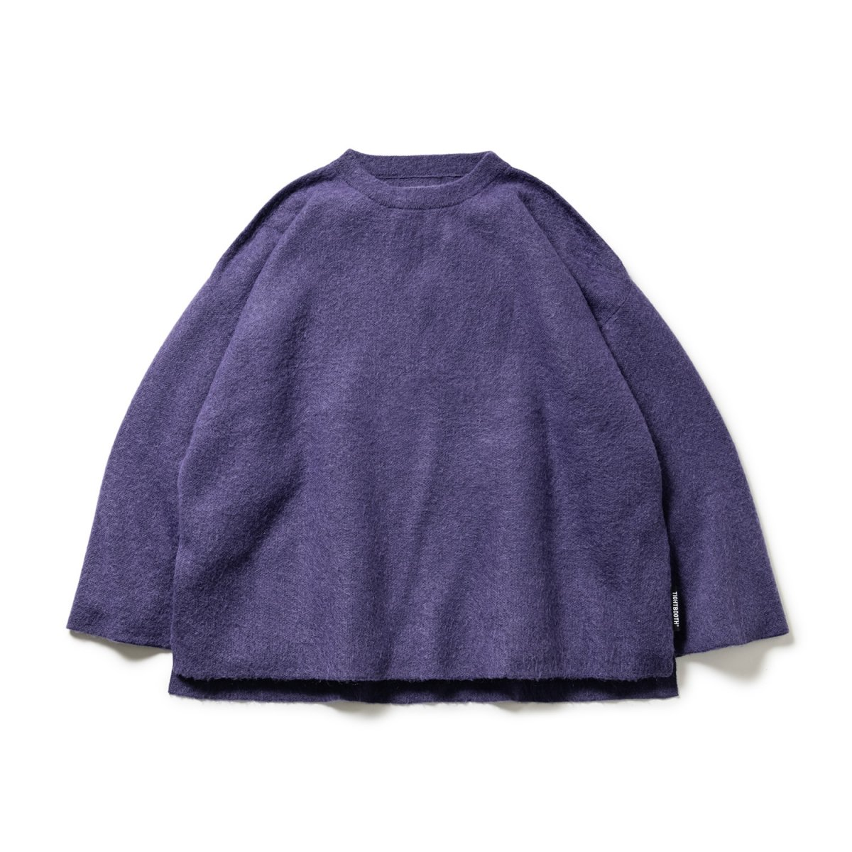 <img class='new_mark_img1' src='https://img.shop-pro.jp/img/new/icons8.gif' style='border:none;display:inline;margin:0px;padding:0px;width:auto;' />【TBPR】Mohair Sweater (Purple)                           </a>             <span class=
