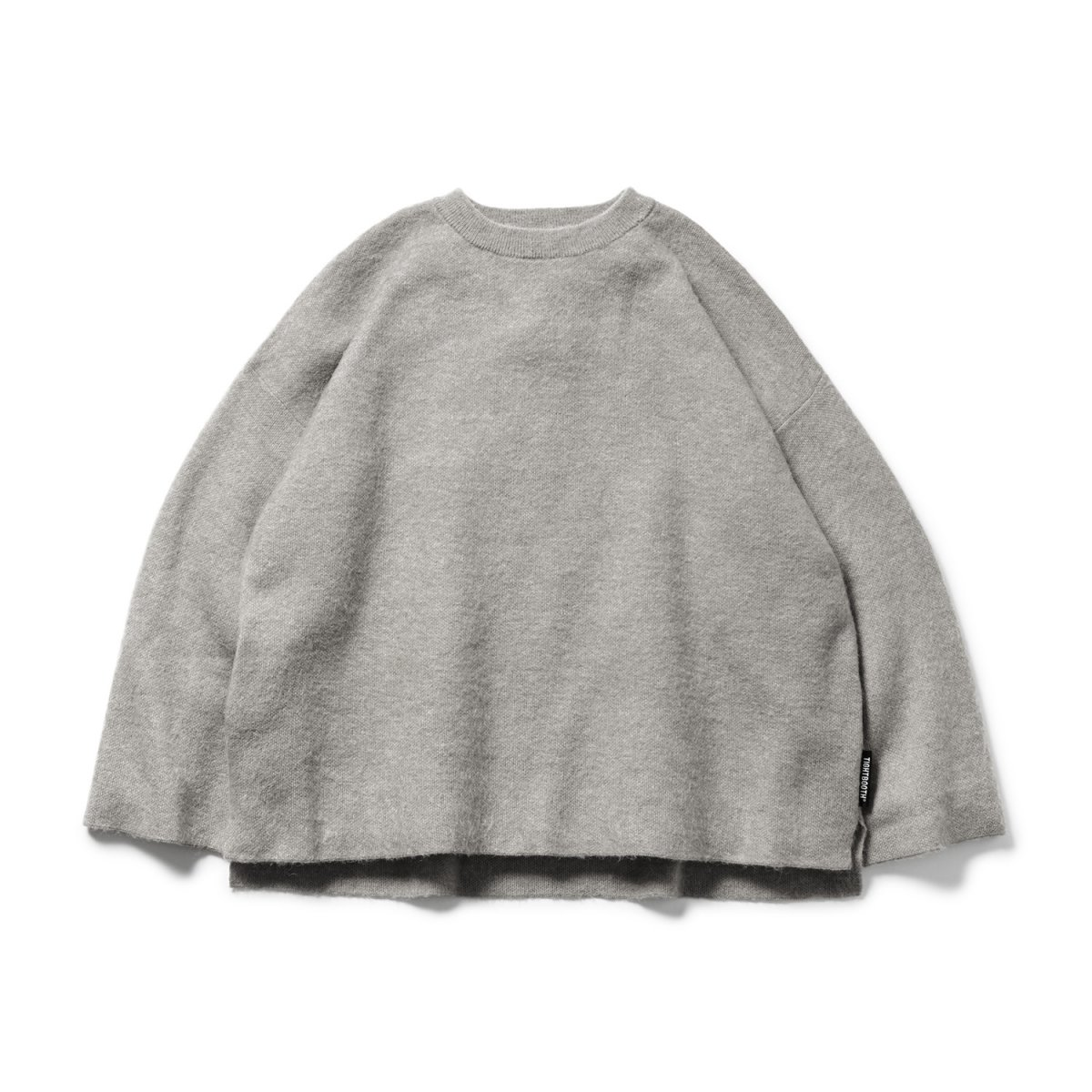 <img class='new_mark_img1' src='https://img.shop-pro.jp/img/new/icons8.gif' style='border:none;display:inline;margin:0px;padding:0px;width:auto;' />【TBPR】Mohair Sweater (Gray)                           </a>             <span class=