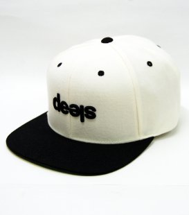 【ABOGINAL】 Sleep Snap Back Cap with onyx