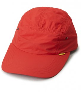 【INTERBREED】SOLID LONG BILL CAP:Red