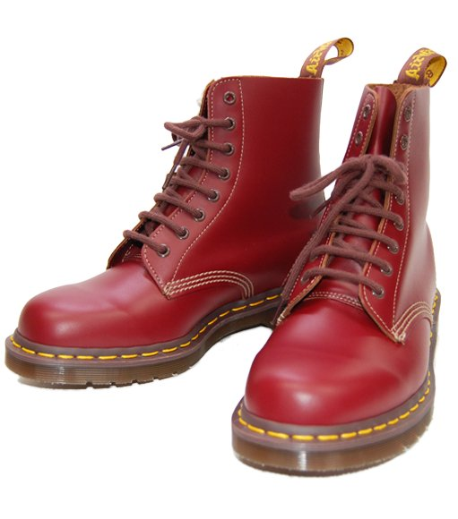 【Dr.Martens】【MADE IN ENGLAND】1460 8-EYE ブーツ:OX BLOOD