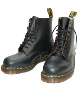 【Dr.Martens】【MADE IN ENGLAND】1460 8-EYE ブーツ:BLACK                           </a>             <span class=