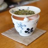 藍染め 茶香炉