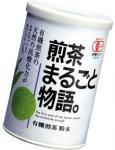 有機煎茶粉末煎茶まるごと物語40g紙缶入 1080円