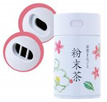 粉末茶 専用缶 330円