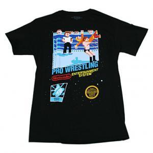 Nintendo プロレス NES Tシャツ