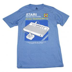 <img class='new_mark_img1' src='//img.shop-pro.jp/img/new/icons5.gif' style='border:none;display:inline;margin:0px;padding:0px;width:auto;' />ATARI Haynesマニュアル Tシャツ