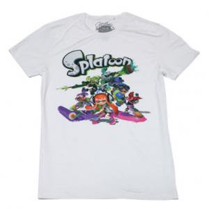 <img class='new_mark_img1' src='//img.shop-pro.jp/img/new/icons5.gif' style='border:none;display:inline;margin:0px;padding:0px;width:auto;' />Nintendo Splatoon Tシャツ