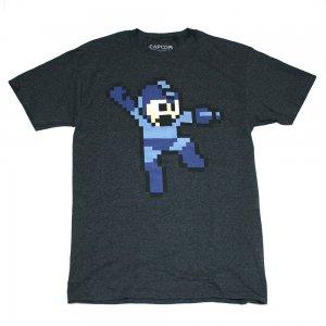 ロックマン ドットTシャツ(D・GREY)