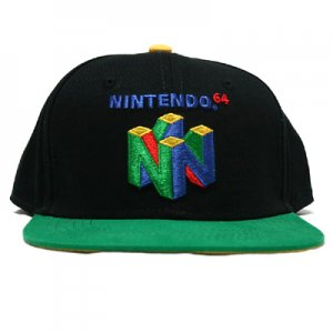 <img class='new_mark_img1' src='https://img.shop-pro.jp/img/new/icons59.gif' style='border:none;display:inline;margin:0px;padding:0px;width:auto;' />NINTENDO64 スナップバックキャップ