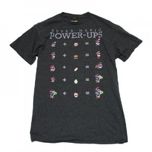 <img class='new_mark_img1' src='//img.shop-pro.jp/img/new/icons5.gif' style='border:none;display:inline;margin:0px;padding:0px;width:auto;' />スーパーマリオ POWER UPS Tシャツ